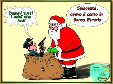 Caro Babbo Natale, siamo il Paese dei divieti, delle truffe e delle ruberie