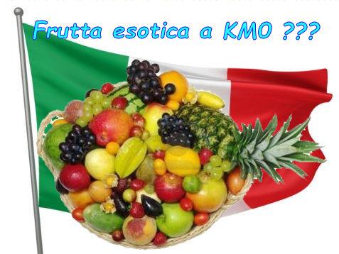 Frutta esotica a Km0 a #Natale ? Ci prendono per #stupidi ?