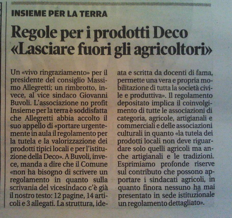 De.C.O. #Mantova, Gozzoli: le problematiche occupazionali sul #territorio non possono aspettare
