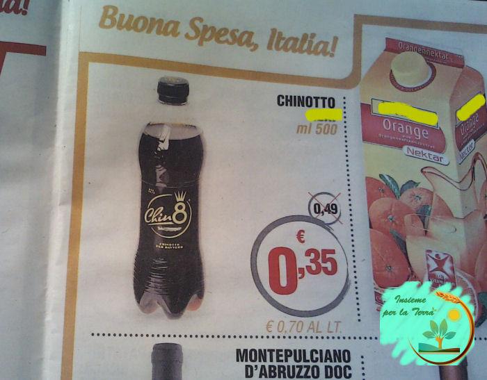 Un litro di #chinotto costa il doppio di un litro di #latte