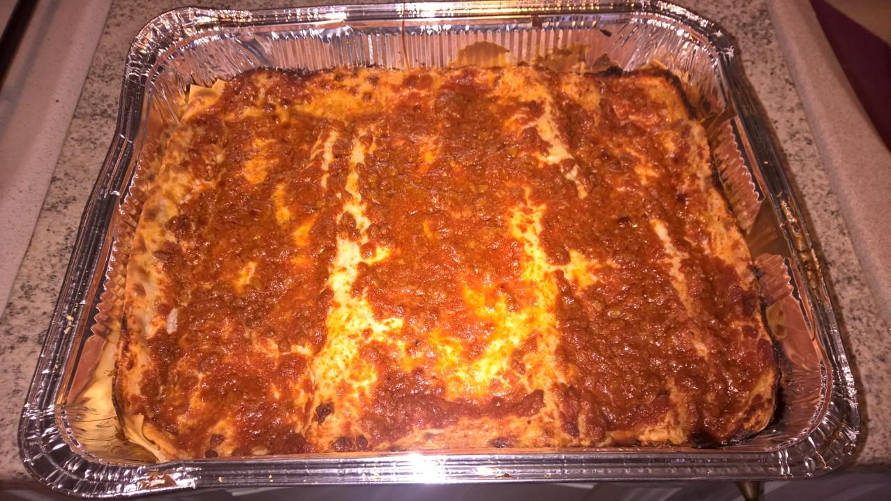 Le ricette di anna lasagne al forno insieme per la terra - Forno e microonde insieme ...