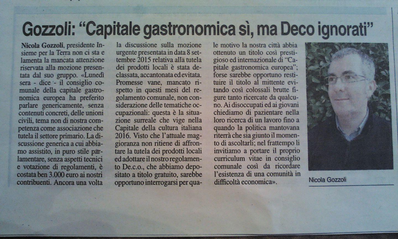 De.C.O. Mantova, al Consiglio non interessa la disoccupazione