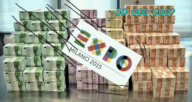 Crack #Expo, collassa il mito in 30 milioni di #debiti