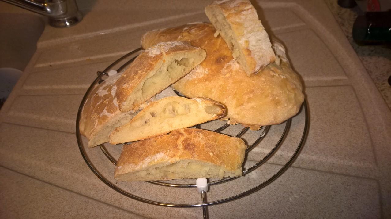 Le ricette di Anna: #pane #ciabatta