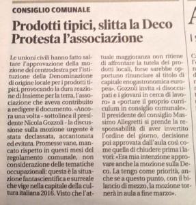 Gazzetta di Mantova, 25 febbraio 2016