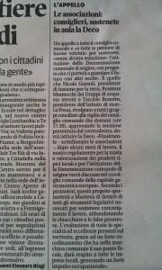 Gazzetta di Mantova, 21 febbraio 2016