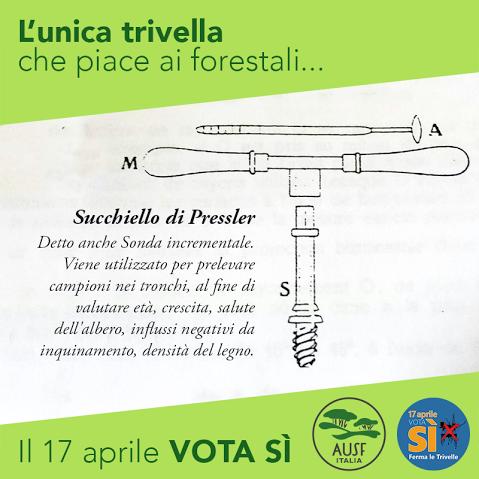 Anche gli Studenti Forestali votano SI al #referendum sulle #trivelle