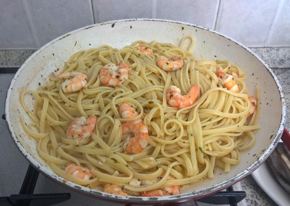 Le ricette di Anna: #linguine con #mazzancolle #velocissime