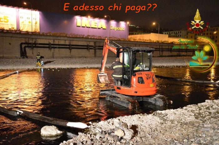Si chiude il #referendum con un #disastro petrolifero a #Genova