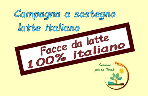 Facce da #latte italiano 100%!