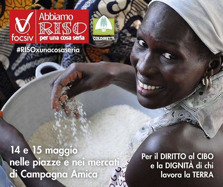 #Coldiretti a caccia di fondi. #Riso italiano per aiutare l'#agricoltura straniera