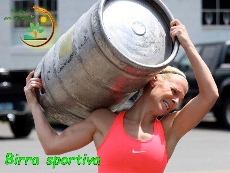 Nasce la #birra degli sportivi. Corre la #ricerca birraria