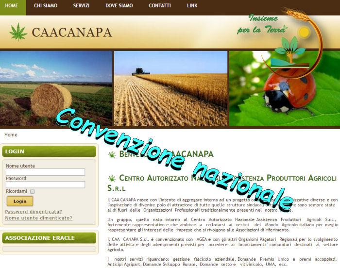 Convenzione Canapa