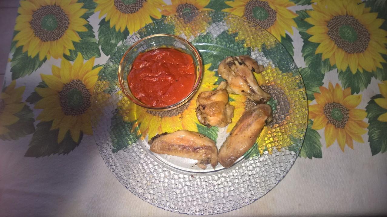 Le ricette di Anna: #ali di #pollo #piccanti con #salsa #piccante