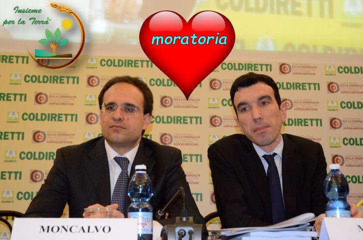 Cade in mille pezzi la #Moratoria di Coldiretti-Martina. Continuano le buffonate