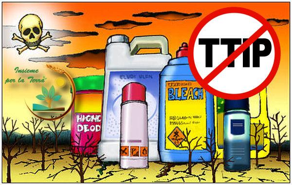 Il TTIP porterà 82 #pesticidi sulle nostre #tavole