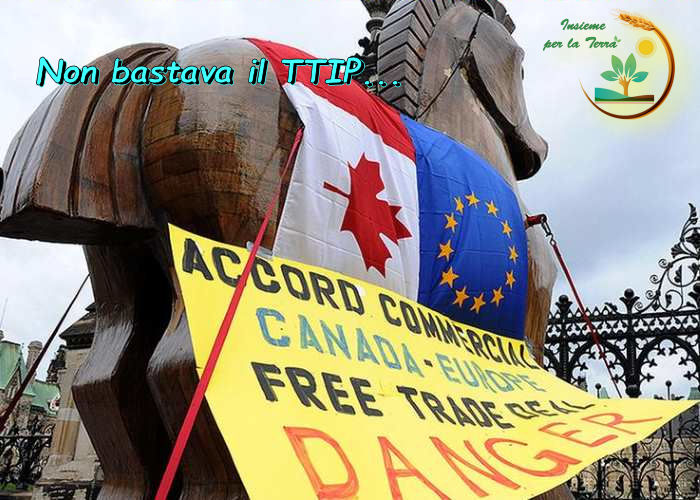 Mentre ci si barrica per il #TTIP, dalla #finestra sta per entrare il #CETA