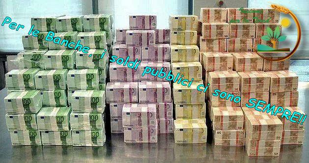 150 miliardi di euro alle #banche italiane, zero #euro per rilancio del #primario