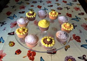 Le ricette di Anna:  #cupcakes alla #vaniglia e #variegati al #cacao