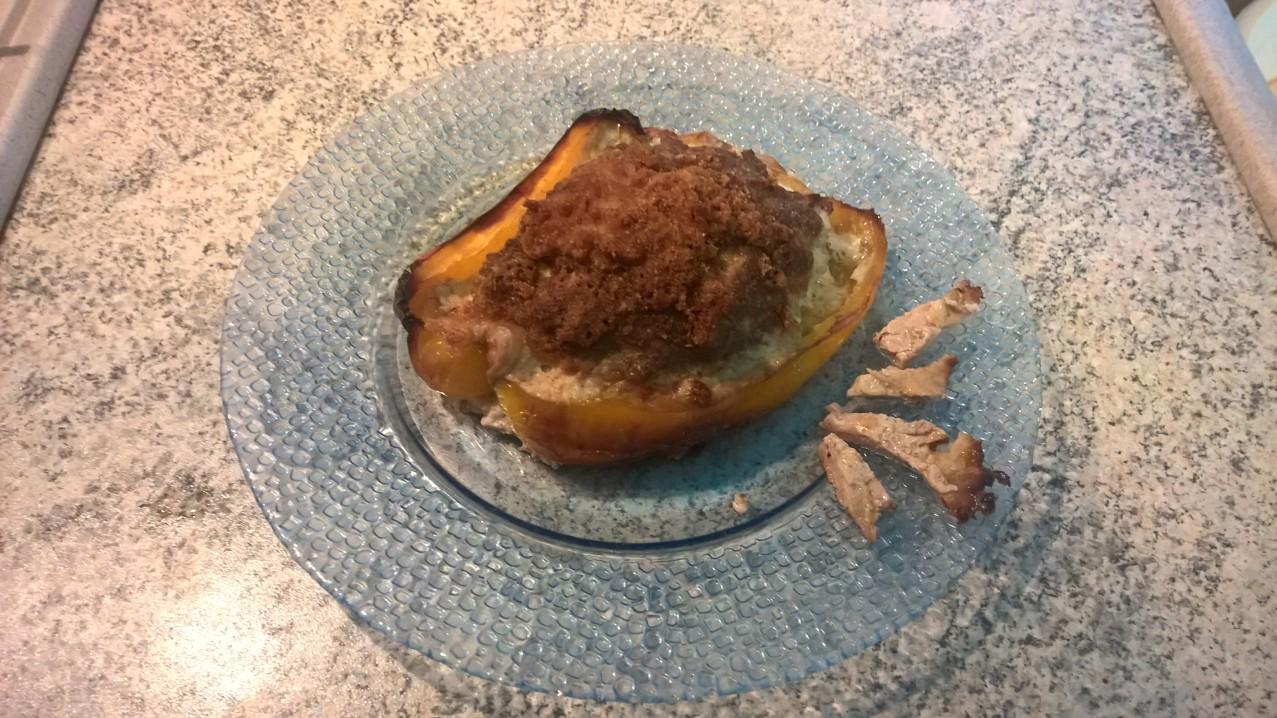Le ricette di #Anna: #peperone #ripieno al #forno
