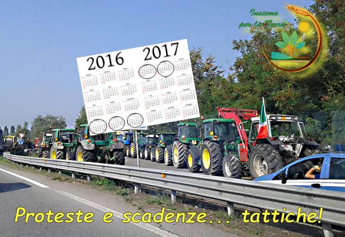 E la #protesta agricola ? Solo da ottobre a febbraio !