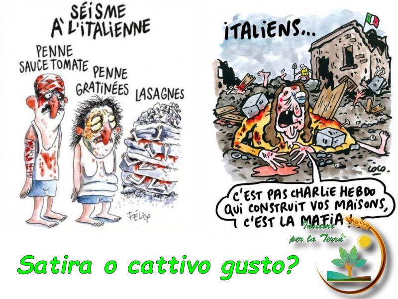 #Satira e cattivo gusto, dov'è il #confine?