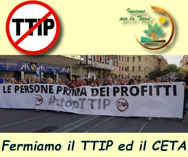 STOP #TTIP – Domani 16 settembre tutti #uniti!