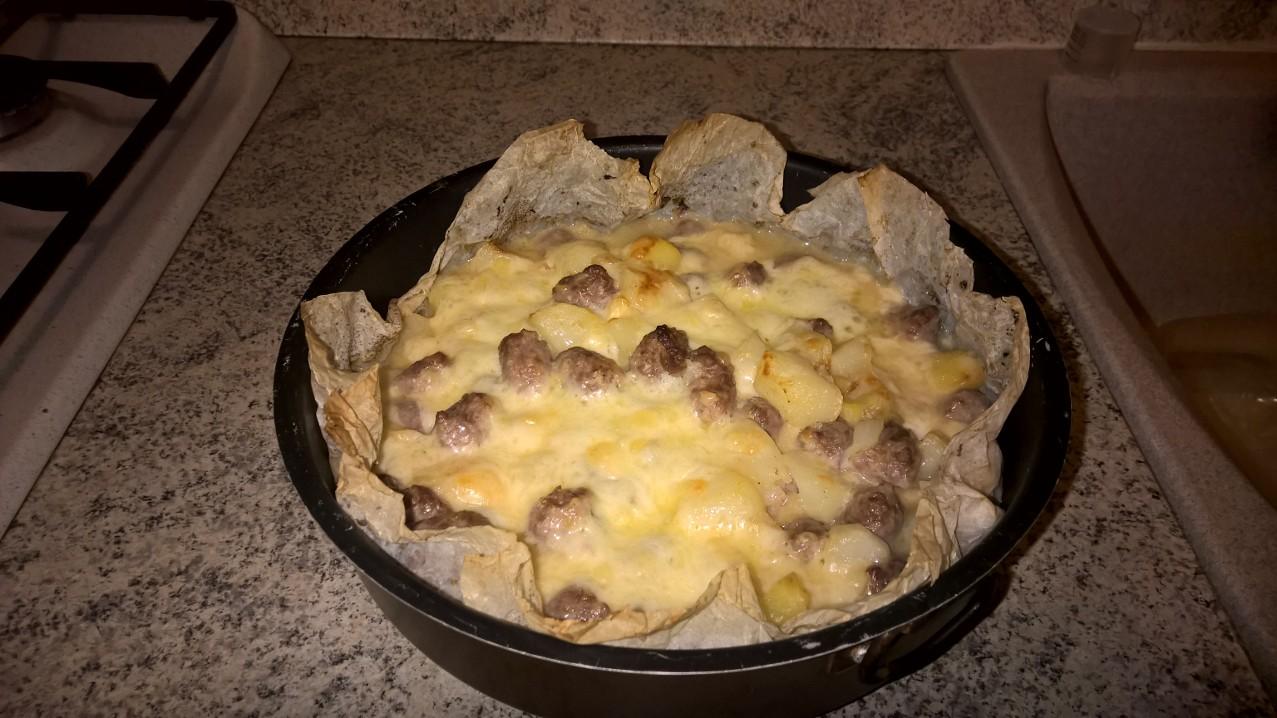 Le ricette di #Anna: #pasticcio di #patate, #salsiccia e #caciocavallo #calabro