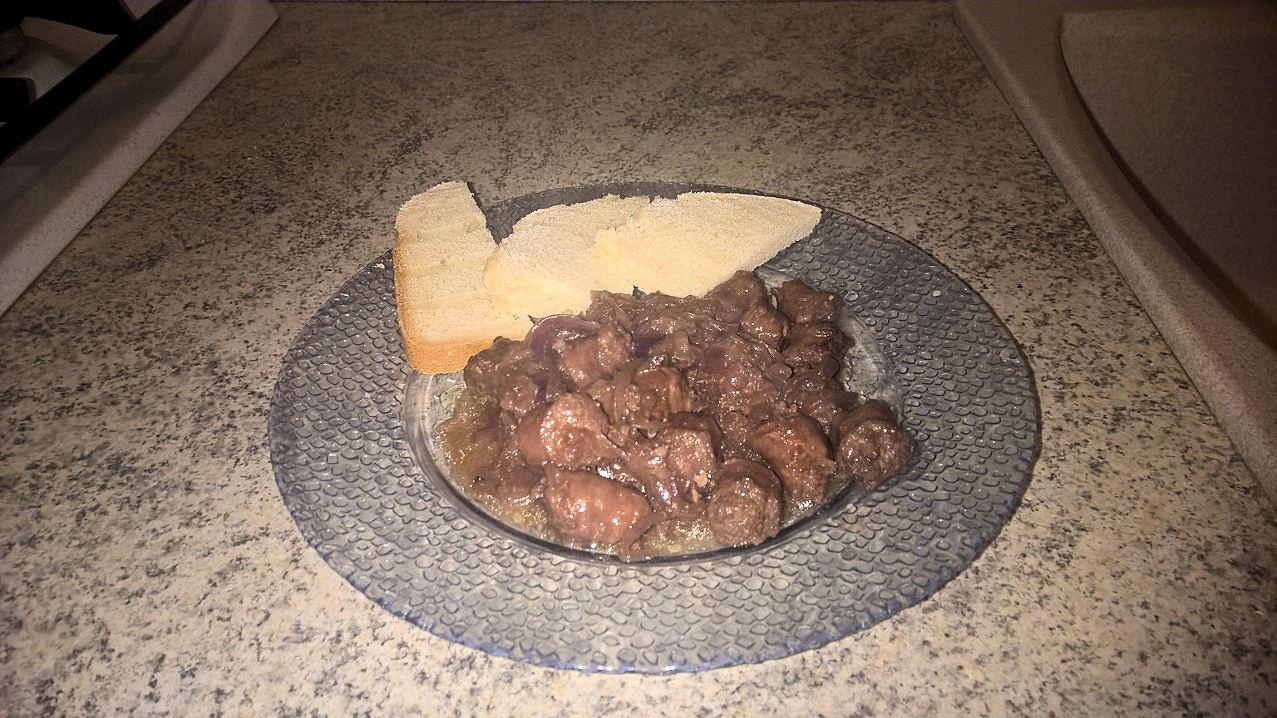 Le ricette di #Anna: #salsiccia #accomodata con #cipolla di #Tropea