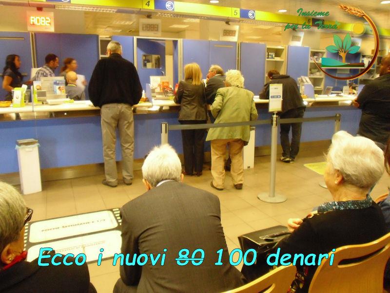 Dopo gli 80 euro arrivano i 100 euro per comprare il SI dei #pensionati agricoli