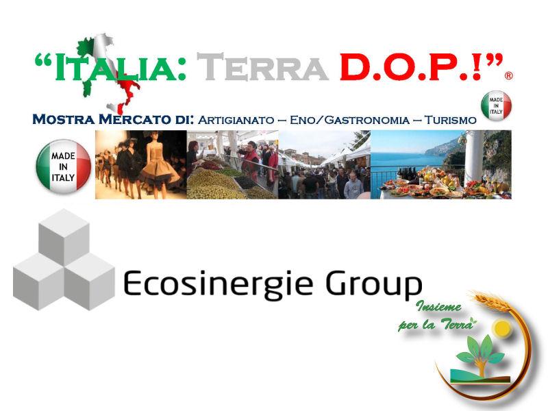 "Parte l'#alleanza tra ""Italia: Terra DOP"", ""Ecosinergie Group"" e Insieme per la Terra"