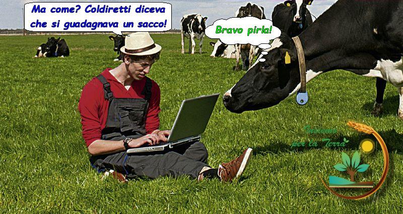 Le #bugie sindacali riescono a trasformare gli orti in #aziende agricole