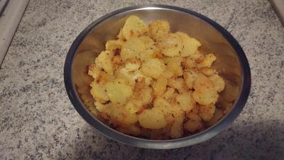 Le ricette di #Anna: #patate #insabbiate