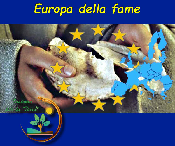 Qual'è lo scopo della attuale politica europea? Fame al popolo e capitali accentrati sui pochi
