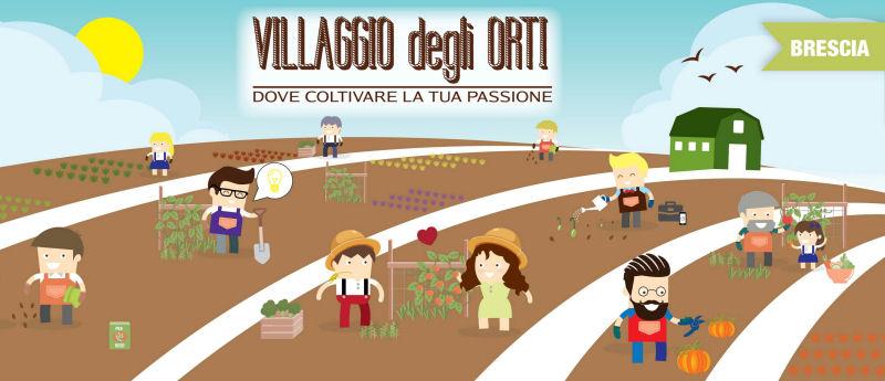 """INAUGURAZIONE """"VILLAGGIO DEGLI ORTI"""". Pronti oltre 200 orticelli da affittare a San Zeno sul Naviglio (BS)"""
