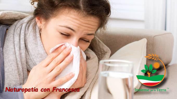 Naturopatia con Francesca – L'influenza in piedi