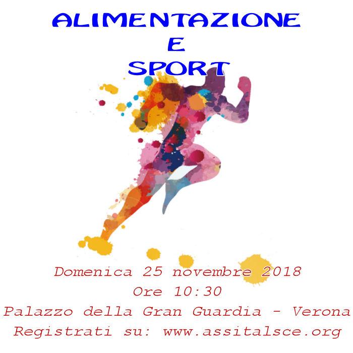 Alimentazione e Sport sbarca al Palazzo della Gran Guardia a Verona
